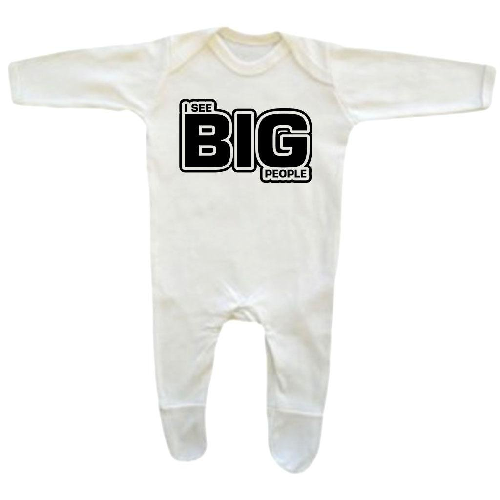 Bang Tidy Clothing Baby Boys I See Big People Rompersuit