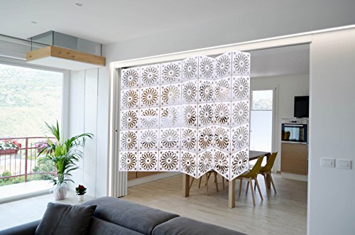 0de5c88e7f5 Kernorv Hanging Foldable Room Divider Screen with Natural Style ...