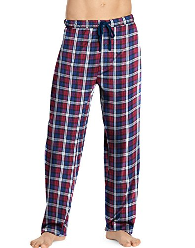 Hanes Mens ComfortSoft Cotton Printed Lounge Pants - Best Seller, XL