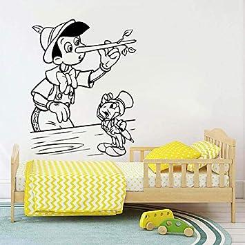 Personaje de dibujos animados caliente Pinocho Vinilo para niños ...