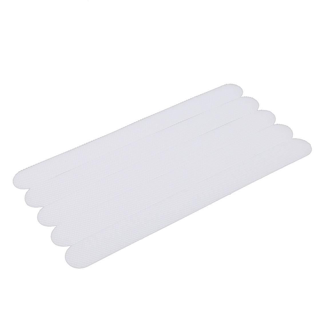 Rurah Anti-Slip Strips Non Slip Treads Tape Shower Stickers Bath Safety Strips Transparent Non Slip Strips Stickers for Bathtubs Showers