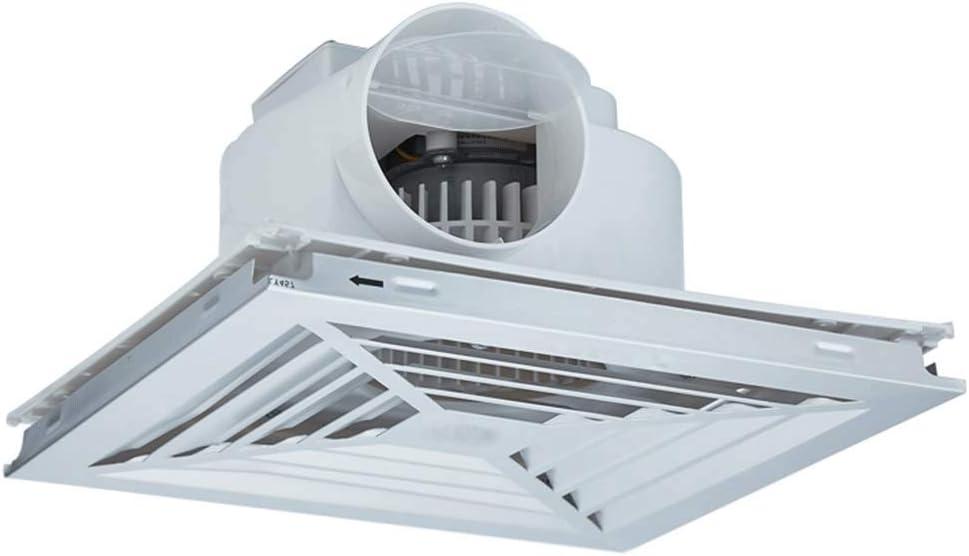 LXZDZ Inodoro Baño Extractor Ventilador Ventana Pared Techo Ventilación Exchaust Ventilador