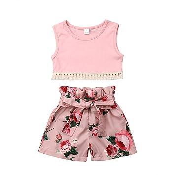 0ab173971b08 Infant Baby Girl Dresses 0-3 Months,Toddler Baby Kids Girl Vest Sleeveless  Tops