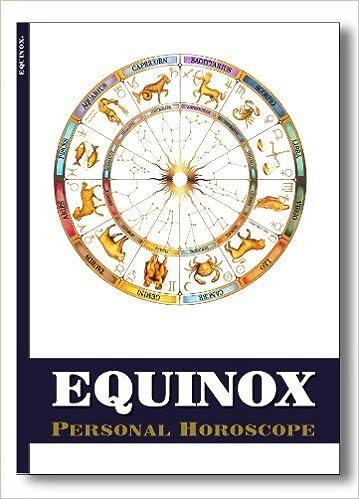 Equinox Astrology Personal Horoscope Year 12 Month Forecast Individually Customized Robert Currey Amazon Com Books