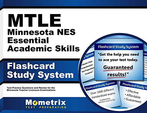 MTLE Minnesota NES Essential Academic Skills Flashcard Study System: MTLE Test Practice Questions & Exam Review for the Minnesota Teacher Licensure Examinations (Cards)