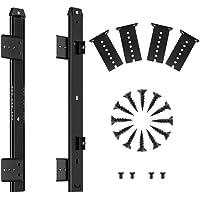 FRMSAET Sliding Keyboard Drawer Tray Hardware 12/14/16/18 inches Slides Heavy Duty Metal Slides Keyboard Slides Mounting…