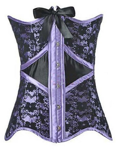 Alivila.Y Fashion Burlesque Lace Corset 5813 With G-String