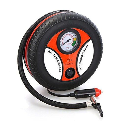Bao Sheng@ Mini Portable Car Air Compressor 12v Auto Infl...