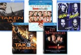 Liam Neeson Movie Collection - Taken 1, 2 & 3/ Run All Night/ Love Actually/ Les Miserables