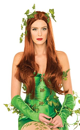 Secret Wishes Women's DC Comics Poison Ivy Wig, Multi, One (Poison Ivy Dc Comics Costume)