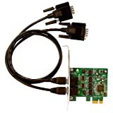 Siig 2-port PCI Express Serial Adapter ID-E20211-S1