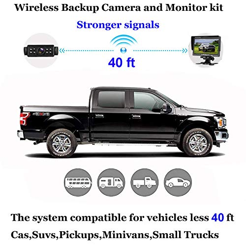 Buy car wireless camera front and rear
