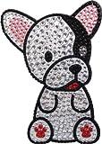 Love Your Breed Rhinestone Sticker, French Bulldog