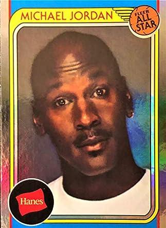 677a516cedd7b Amazon.com: 2019 Hanes MICHAEL JORDAN Basketball Card - Rare SILVER ...