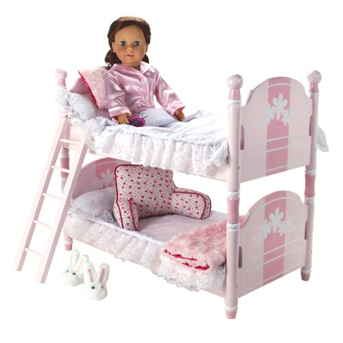 Bunk Bed Dolls: 18 Inch Baby Doll Bunk Bed For American Girl Barbie