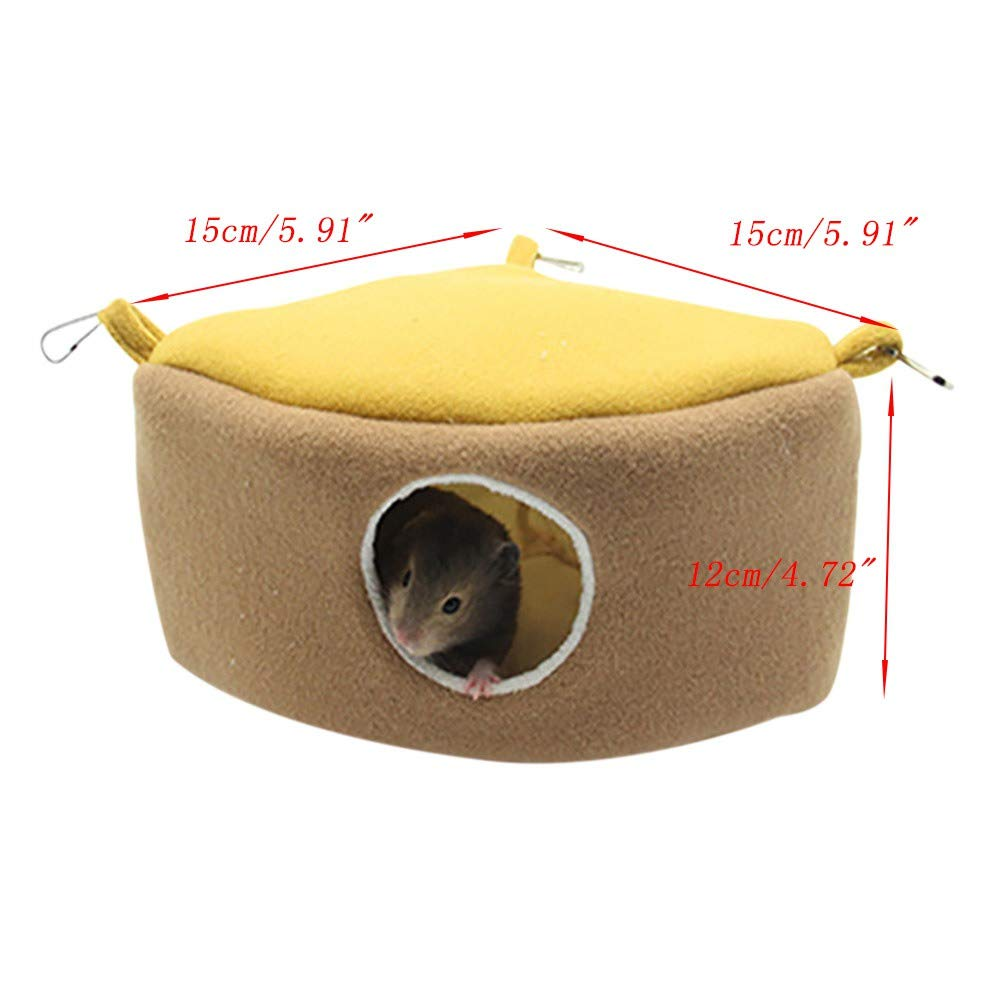 Onkessy Hammock Cage Ferret Hamster Rabbit Rat Parrot Squirrel Hammock Hanging Bed Pet Nest House Cage Toy