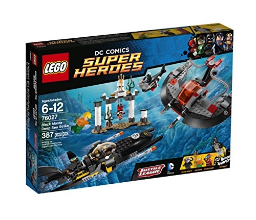 LEGO Superheroes Black Manta Deep Sea Strike Building Set 76027