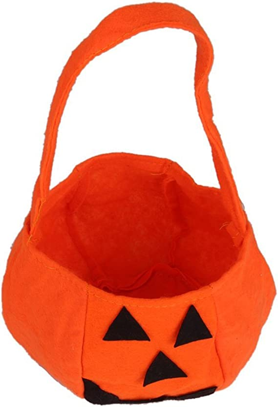 Pixnor 10PCS Halloween zucca borsa borsetta in tessuto non