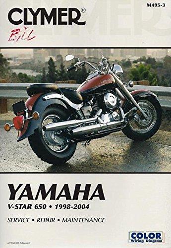 Yamaha: V-Star 650, 1998-2004 (CLYMER MOTORCYCLE REPAIR)