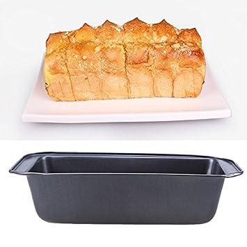 whosee 25 cm para repostería molde para tostadas horno Bake pan rectangular molde tarta de galletas