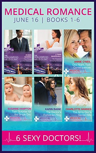 book cover of Medical Romance June 2016 Books 1-6