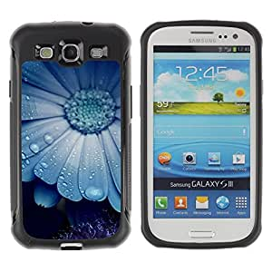 Suave TPU GEL Carcasa Funda Silicona Blando Estuche Caso de protección (para) Samsung Galaxy S3 III I9300 / CECELL Phone case / / Blue Mist Flower Nature Beauty Cute /