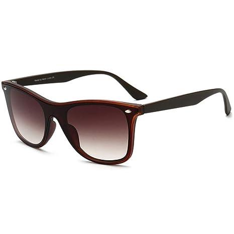 Yangjing-hl Gafas de Sol de Moda para Hombre Gafas de Sol ...