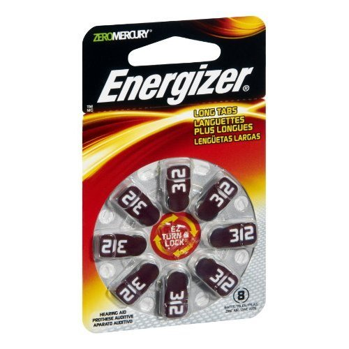 Hearing Aid Battery - 8 count - Pack of 12 ()
