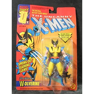 X-men Action Figures - Wolverine (Second Edition): Toys & Games