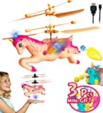 Akargol Flying Unicorn Gifts for Girls 4-12 Years Old Toy - ...