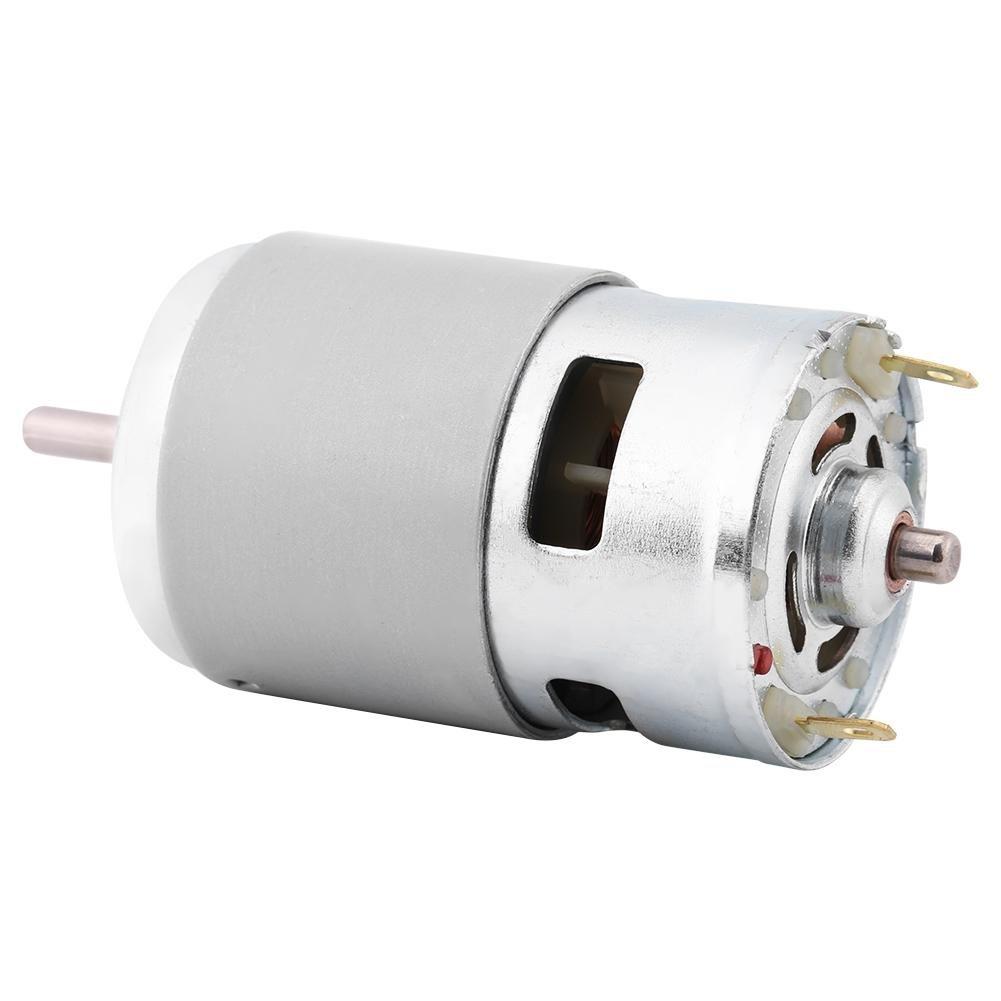 DC Brushed Motor,12V 0.32A 150W 13000-15000RPM Electric Brushed DC Motor Large Torque High Power for Go Karts E-Bike Motorcycle