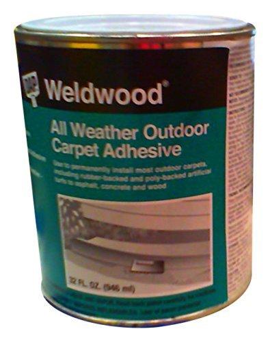 Dap 00442 Weldwood All-Weather Outdoor Carpet Adhesive, 1-Quart