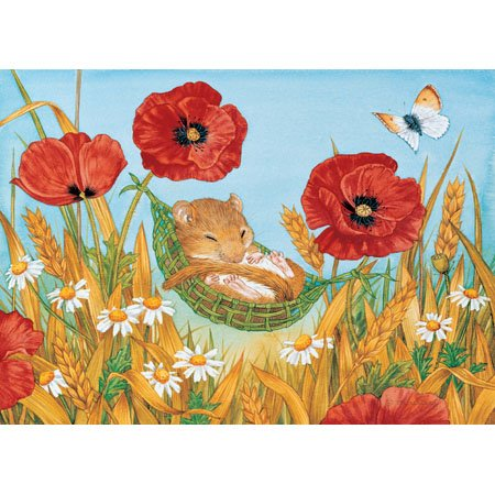Summer Snooze Jigsaw Puzzle 25pc