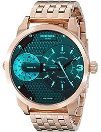 Men's DZ7336 Mini Daddy Analog Display Analog Quartz Rose Gold Watch