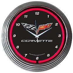 Neonetics Corvette C6 NEON Clock