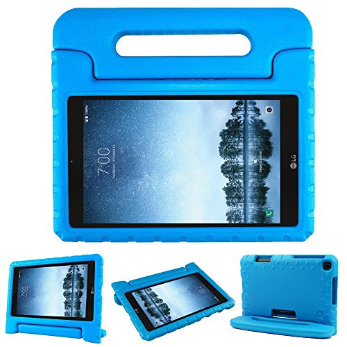 Bolete Case for LG G Pad F2 8.0 Sprint LK460, Kids Friendly Ultra Light Weight Shock Proof Super Protective Cover Handle Stand Case for LG GPad F2 8.0 Sprint Model LK460 8-Inch Android Tablet, Blue (Lg Tablet Case Otter Box)