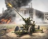 Zvezda Models 1/72 Soviet 37mm Anti-Aircraft Gun
