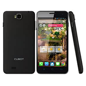 "CUBOT T9 Android 3G Smartphone 5"" FHD 1080P IPS OGS MTK6589T Cortex A7 Quad Core 1.5GHz 8MP/13MP 1GB+16GB Gyroscope Sensor Bluetooth GPS (Black)"