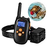 Tocode Dog Training Collar Rechargeable and Rainproof 500yd Remote Dog Shock Collar Beep Vibration and Shock Electric Collar