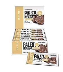 Paleo Protein Bar, Almond Fudge, Pack of 12, 2 oz (56.8g)