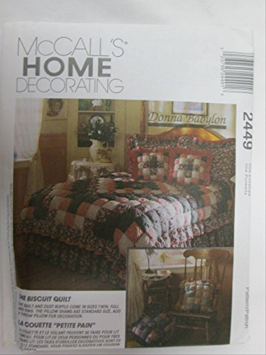 (UNCUT & OOP McCALL'S HOME DECORATING 2449