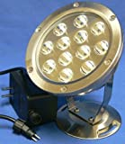 Submersible Pond Light 12 LED High Power with Transformer