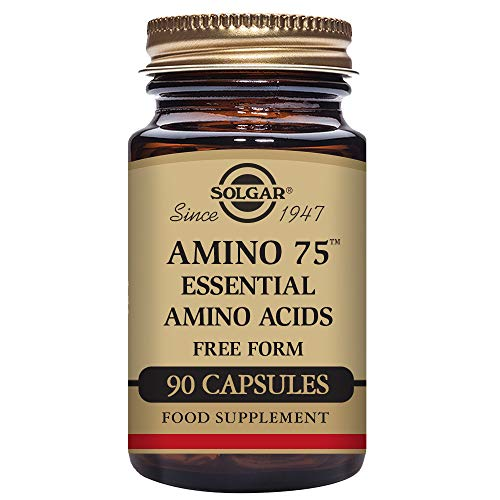 Solgar Amino 75 Essential Acid Vegetable Capsules - Pack of 90
