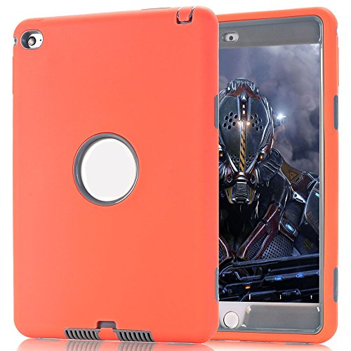 Price comparison product image For Ipad mini 4, TOOPOOT Hybrid Shockproof Protective Case Cover for iPad Mini 4 (k)