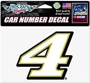 WinCraft NASCAR Stewart Haas Racing Kevin Harvick White # W/Gold Outline NASCAR Kevin Harvick White # W/Gold O