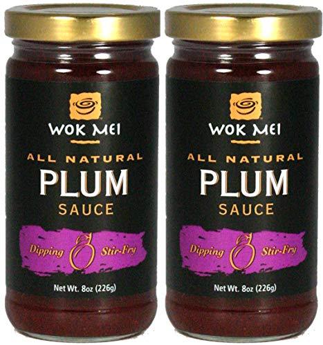 Plum Sweet Sauce - Wok Mei Gluten Free Plum Sauce, 8 Oz./2 Pack
