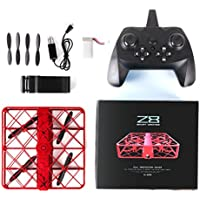 Z8 RC Drone Wifi FPV Quadcopter ,with 6-Axis Gyro 2.4G Altitude Hold 0.3MP HD Camera UFO Quadcopter Pocket, [Easy to Fly for Beginner] (Red)