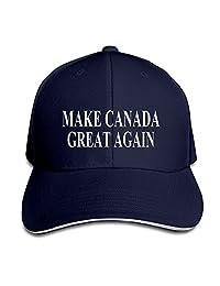MAIQU Make Canada Great Again Snapback Hats Baseball Cap