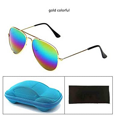 Amazon.com: Baby Kids Sunglasses with Case Fashion Trendy ...