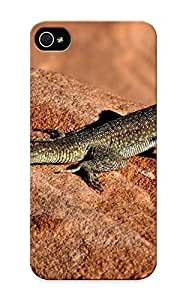 Storydnrmue Durable Animal Lizard Back Case/ Cover For Iphone 5/5s For Christmas